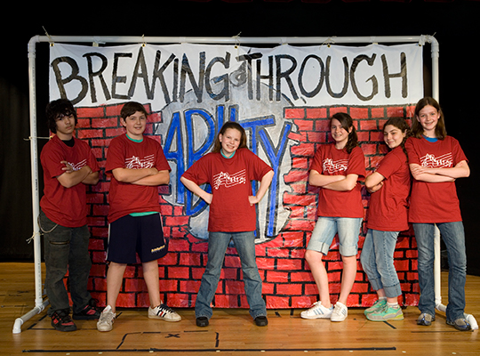 Breaking Through Carroll School Play about Dyslexia