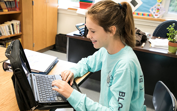 Google for Education Helps Carroll Students Overcome Learning Disabilities