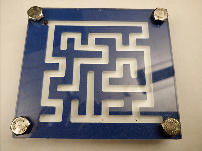 Marble Maze Game Created in Fab Lab