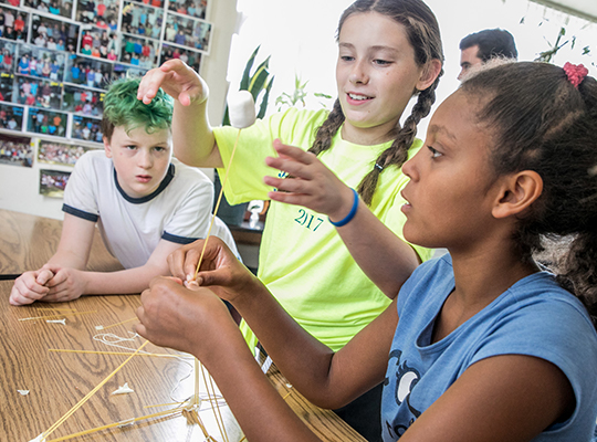STEM Activities at Summer Camp